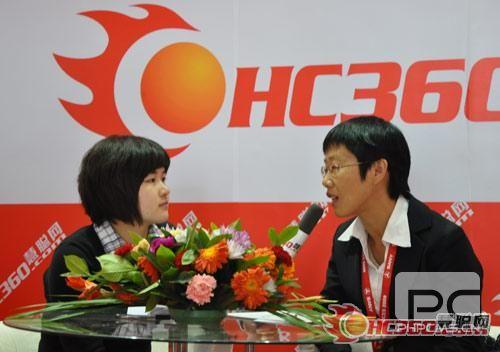 湖南星邦重工有限公司总经理许红霞女士接受了慧聪工程机械网的独家采访