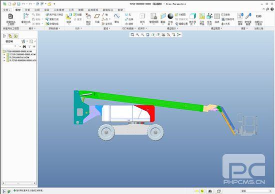 ptc creo三维设计系统-成品图